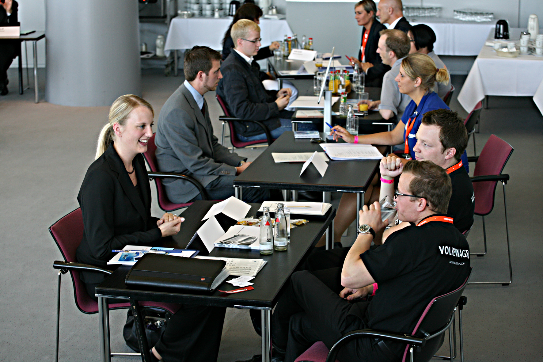 speed dating job interviews Speed dating job interviews to help students in their final year with their job search conferences given by employers from fields related to  career services,.